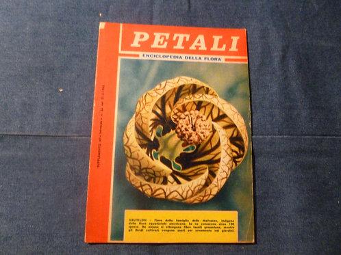 Enciclopedia della Flora - petali - 1962
