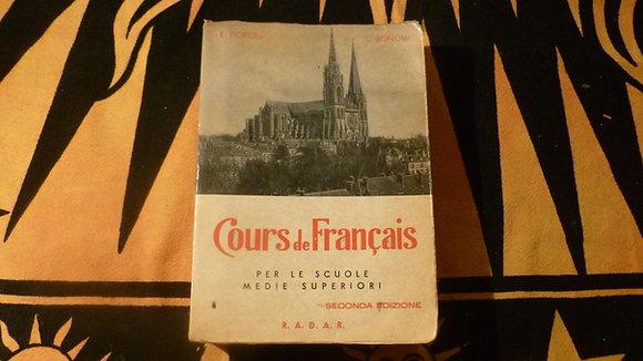 E. Fiorioli - C. Bonomi -  Cours de Français - 1964
