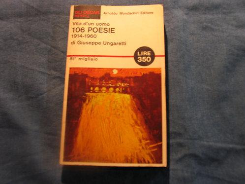 Giuseppe Ungaretti - 106 poesie - 1966