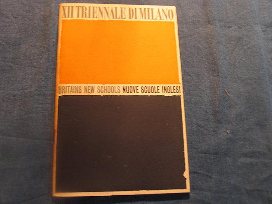 XII Triennale di milano - Britains New Schools - 1960