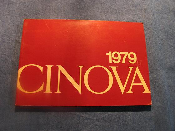 catalogo CINOVA - 1979