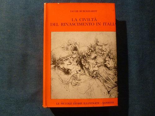 J. Burckhardt - La civiltà del rinascimento in Italia - 1961