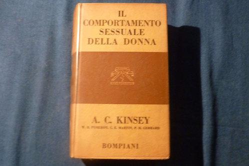 A.C. Kinsey - Il comportamento sessuale della donna - 1962