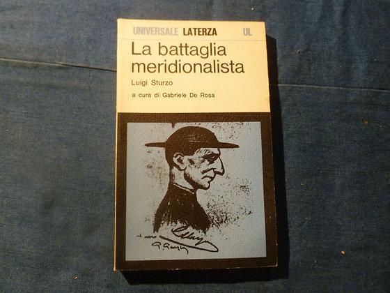 L. Sturzo - La battaglia meridionalista - 1979