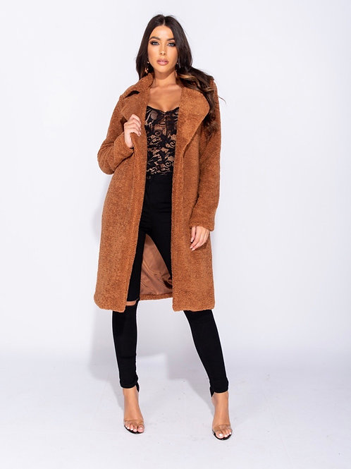 Oversized Teddy Fur Coat