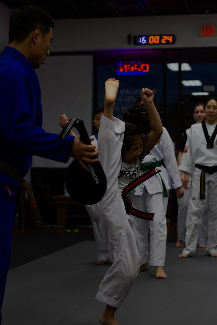 Kids TKD (green belt and up)