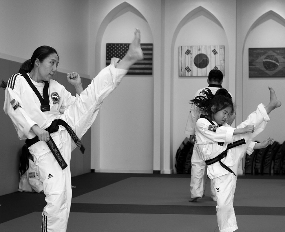 Kids TKD (high yellow and under)