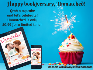 Happy Bookiversary, Unmatched!