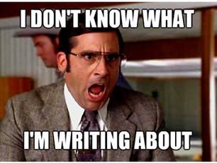 It takes a village to write a blurb...
