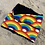 Thumbnail: Small Rainbow Snood with Navy lining to fit 1-5yrs