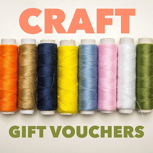 CRAFT by mama.may.sew GIFT VOUCHER