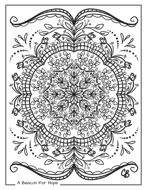 Mandala Colouring Page 5