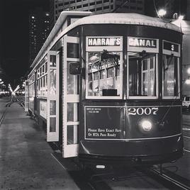 New Orlean's Tram