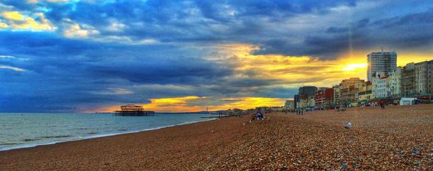 Brighton Sun Set