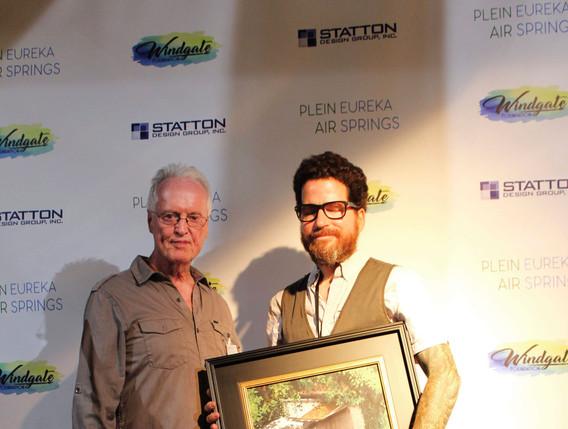 John Cook with Sean Friloux