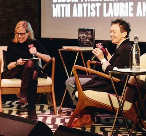Design Matters Live: Laurie Anderson