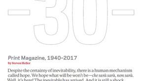 Weekend Heller: Print Goes Unprint