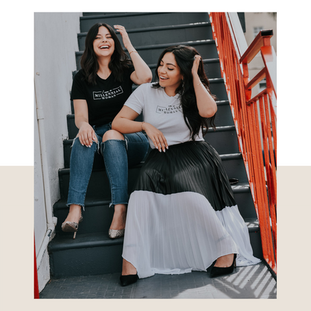 075. Using podcasts to elevate your business w/ Melissa & Stephanie Carcache, Millennial Women Talk