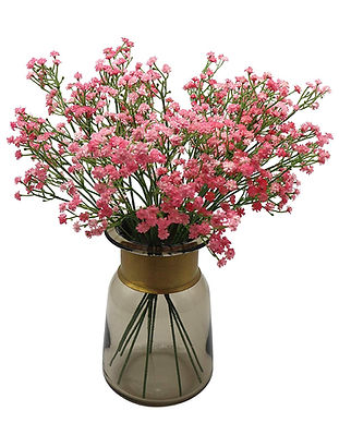 Fake flowers, pink flowers, event decoration, she x shines