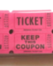 Pink tickets, event supplies, event decoration, she x shines