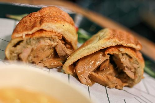 Roast Pork Wrap, Apple Sauce, Stuffing & Gravy
