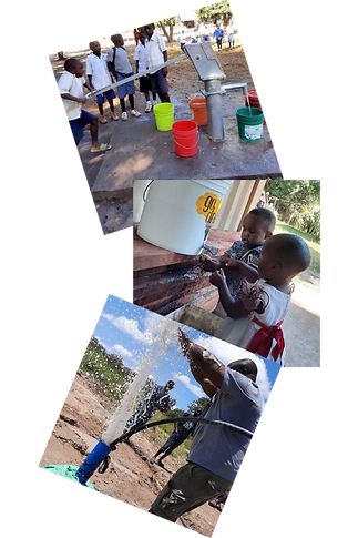 Kids Getting Fresh Water