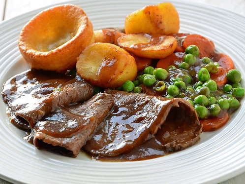 Traditional Sunday Lunch served all day, every day!