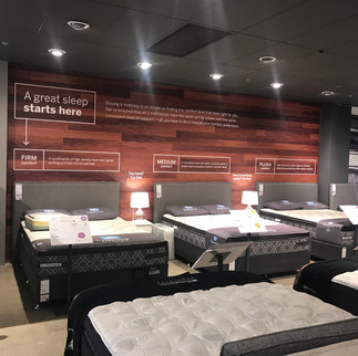 Instore Graphics (Freedom Furniture)