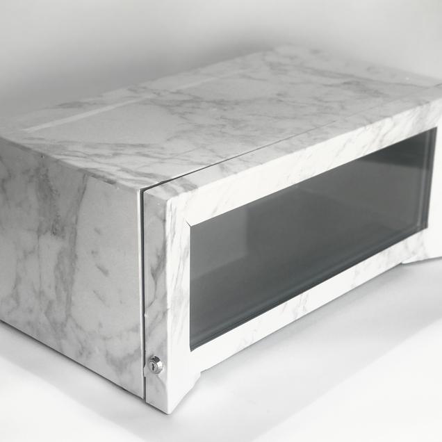Cooler Vinyl Wrap (Marble Bar)