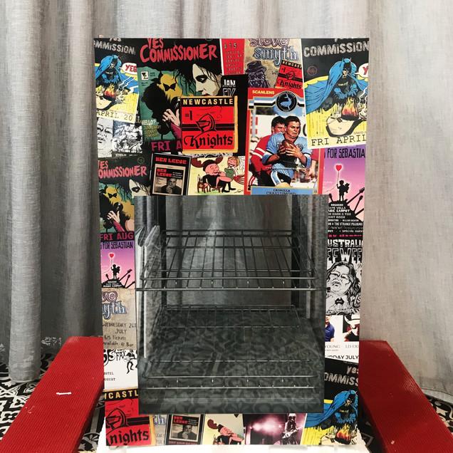 Cooler Vinyl Wrap (The Newcastle Hotel)
