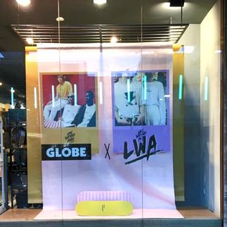 Creative Window Display (Globe x LWA)