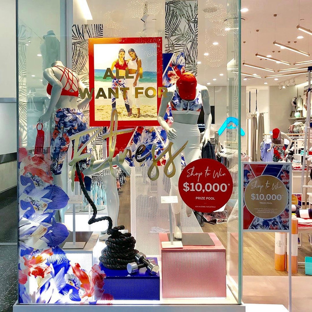 Creative Window Display (Rockwear Christmas 2018)