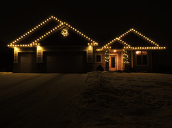 Warm White Lights, Garland & Wreath