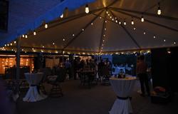 Warm White Wedding Tent Lighting
