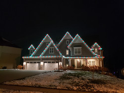 Red, Green, and Warm White LED Lights