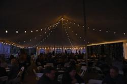 Bistro Tent Lighting