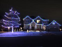 Multi-Colored Christmas Lighting