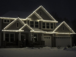 Warm White LED Christmas Lighting
