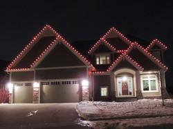 Red Christmas Lighting