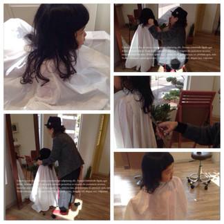 【子供といける美容室】