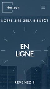 Trouvez votre Template website templates – Landing Page à venir