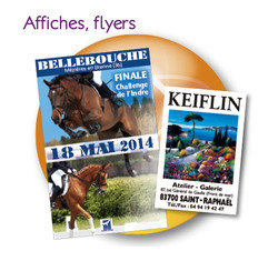 affiches flyers