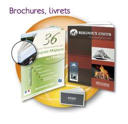 brochures livrets