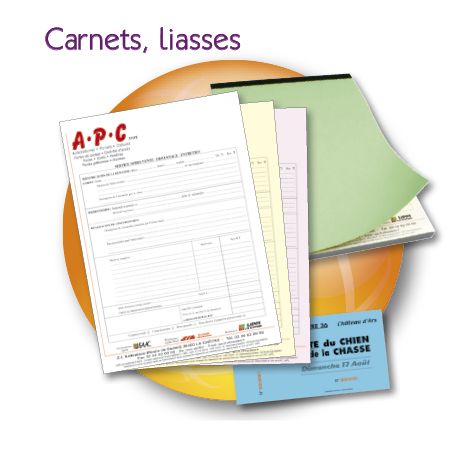 carnets liasses billeterie