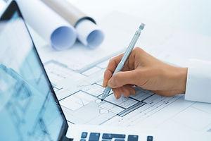 Architektur Modell Sketching
