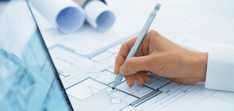 Diamond Contracting Draws out BluePrints