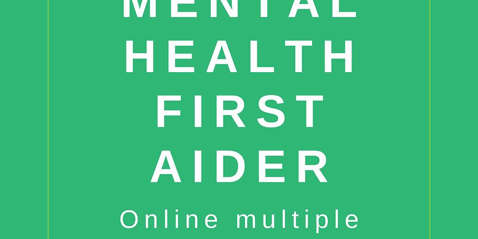 Mental Health First Aider Online