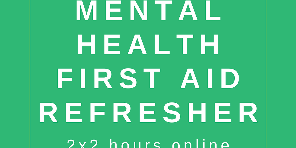 Mental Health Refresher Online
