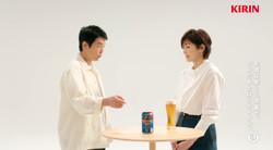 キリン 一番搾り糖質ゼロ 唐沢寿明 吉瀬美智子 一番搾りだから篇