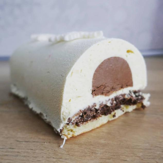 Bûche chocolat tonka